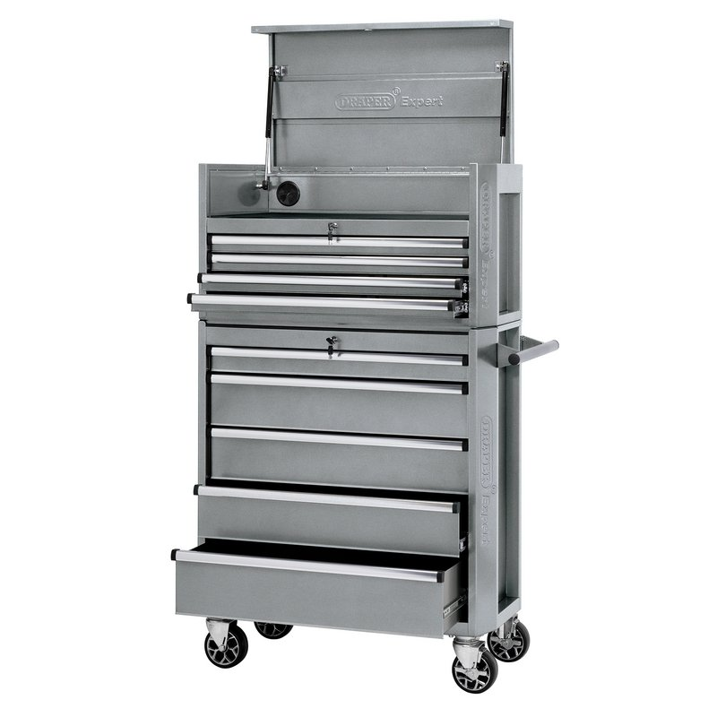 36 Combined Roller Cabinet And Tool Chest 9 Drawer Stock No